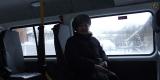 в салоне микроавтобуса