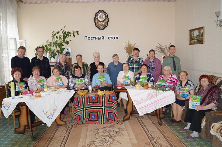 Конкурс на лучшее постное блюдо среди получателей услуг в ОДП Надежда Волоколамский ЦСО Декада милосердия